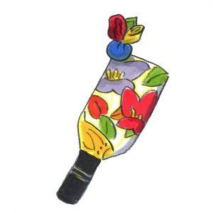 つるし雛飾り(羽子板)